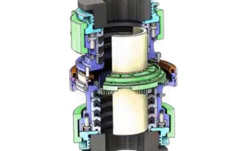 Эпицикличная (планетарная) промывочная труба вертлюга